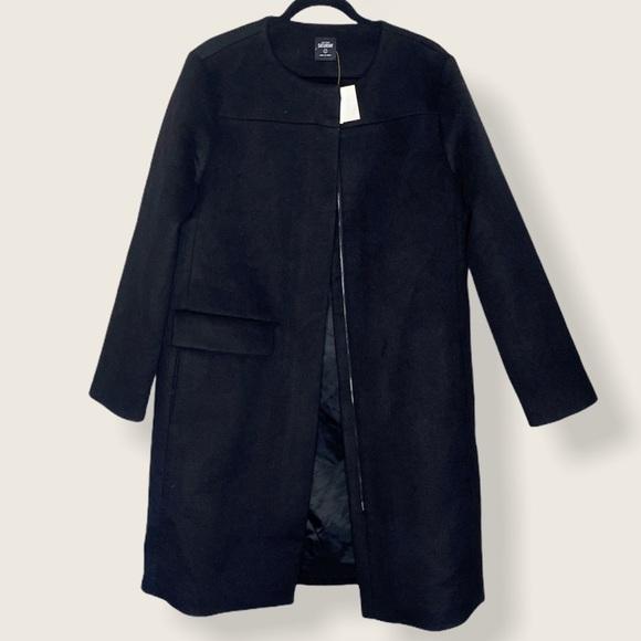 NWT Kate Spade Saturday Single Flap Pocket Coat L